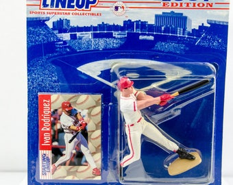 Starting Lineup 1997 MLB Ivan Rodriguez Action Figure - Texas Rangers