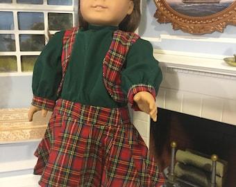 WW 1 Era dress for 18 inch doll