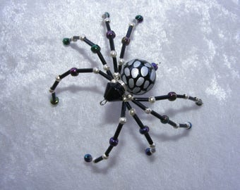 Beaded Spider, Sun Catcher, Lamp Decoration, Christmas Ornament