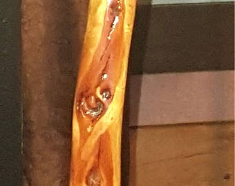 Diamond willow wood cane