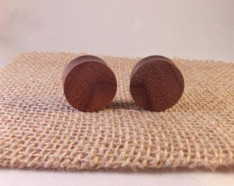 Handmade Black Walnut Wood Plugs