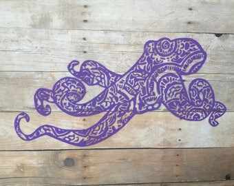 Custom Mandala Octopus Vinyl Decal for Yeti, Phone, Laptop & more - You Choose Pattern + Color