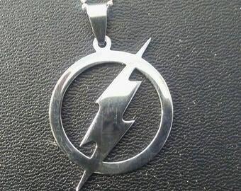 Lightning Necklace Thunderbolt pendant & Chain Bolts Necklace