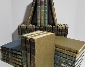 Vintage Britannica Great Books Set Lot of 33 Instant Library 1952