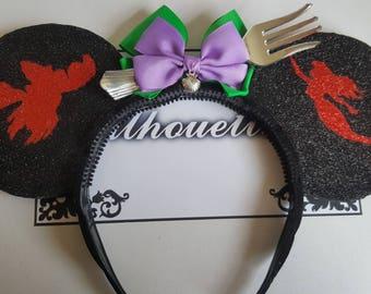 Disney The Little Mermaid Inspired Souvenir Ears