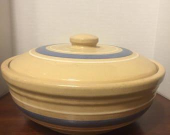 WATT  Yellow Ware Casserole Dish with Lid