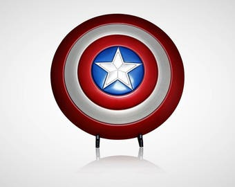 Captain America Cosplay Shield Metal... Movie Prop Replica Avengers gear, Captain America Prop Shield.