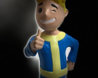 3D Printed Vault Boy from Fallout 4 - Almost 1FT Tall!