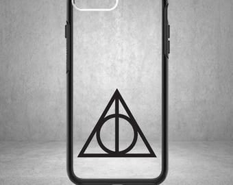 Deathly Hallows, Deathly Hallows Decal, Harry Potter Deathly Hallows Sticker, Sorting Hat, Phone Cover, Harry Potter Decals, Harry Potter