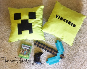 Pillow creeper Minecraft Pillow