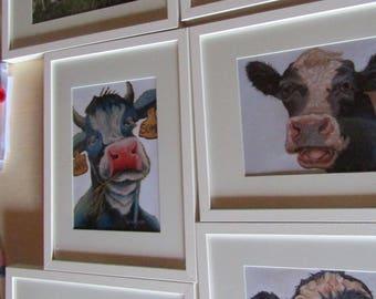framed prints.  unframed prints