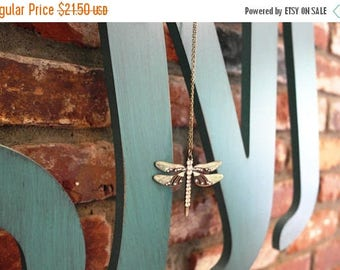 ON SALE Dragonfly Love