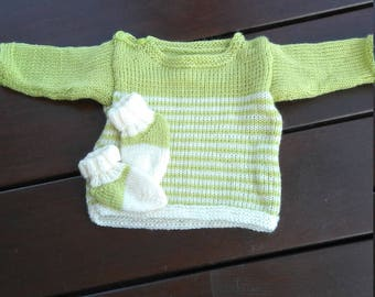 Socks boys sweater with 3 months acrylic