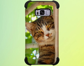 Cat in a Tree Phone Case for iPhone, Galaxy, Note & Pixel