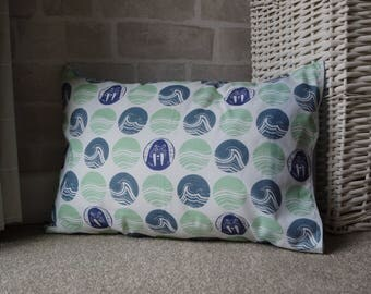 Pringles Walrus Print Cotton Cushion