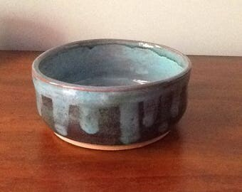 """Red earthenware bowl 5 1/2"""" diameter, 2 1/2"""" tall"""