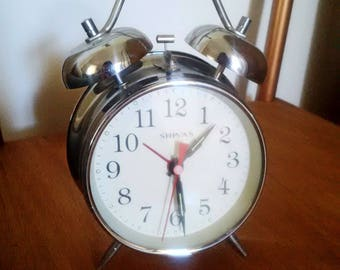 Vintage alarm clock / antique & retro alarm clock