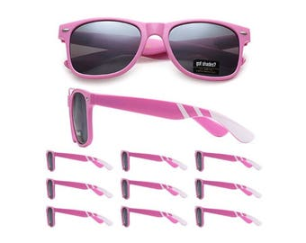 10 Pink Sunglasses for customization