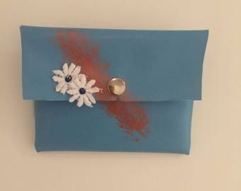 Faux Soft leather Clutch Purse