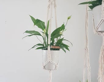 Macrame plant hanger, plant hanging, macrame, plants, plant pot, plant hanger, bohemian plant hanger, macrame plant hanging, bohemian, decor