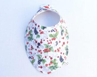 "bavoir foulard original 0/24 mois ""Alizé «"