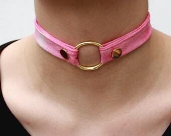 Melrose Choker in Pink