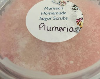 Plumeria sugar scrub