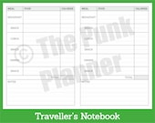D003-TN Food Tracker with Notes - DO1P Spread