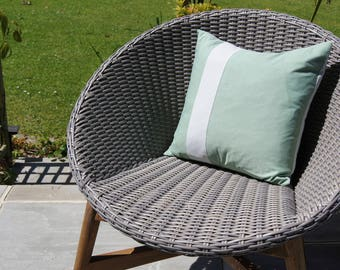 100% cotton cushion cover from quality up-cycled shirts