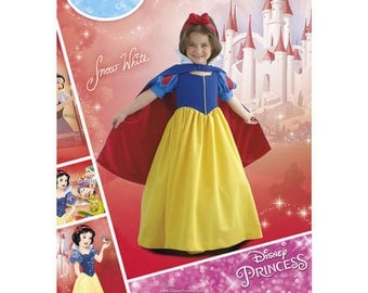 Simplicity 8487 - CHILDS and GIRLS Snow White Costume