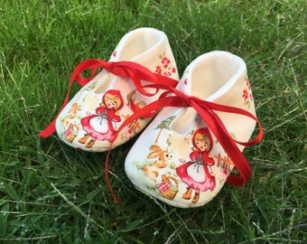 Shoes baby Riding Hood-various sizes