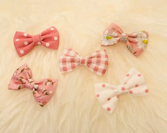 Mini baby bows collection / / bottom for breast cancer / / baby girl