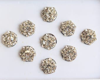 9 Silver Small Round Bindis Face Jewels,Wedding Round Bindis,Stone Bindi,Silver Bindis,India Bindis,Bollywood Bindis,Self Adhesive Stickers