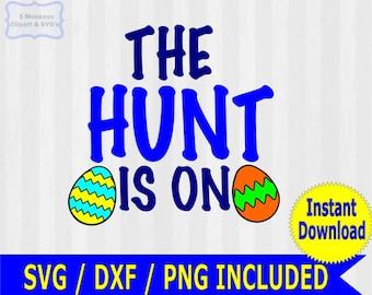Easter SVG, Egg hunt svg, svg files for silhouette cameo, cricut explore, easter basket svg, boys easter shirt, easter bunny, egg hunt, dxf