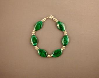 Russian Malachite Bracelet