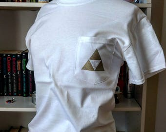 Triforce Pocket Tee