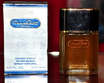 Oscar De La Renta Pour Lui After Shave Spray 100ML 3.3 Fl. Oz. Rare Vintage Old 1980