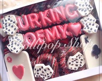 Poker Gift Box, Chocolate Gift Box, Chocolate Gift, Poker Birthday, Poker Party, Casino