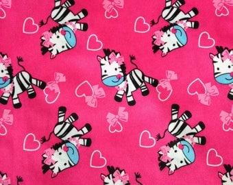 Zebra pocket diaper