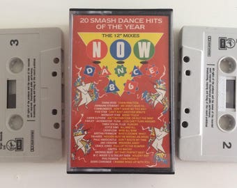 NOW dance 86 double music cassette tap