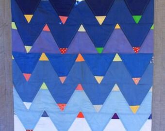 Blue mountains quilt