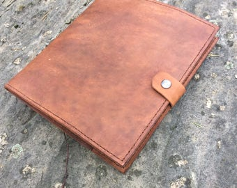 Handmade Leather Portfolio