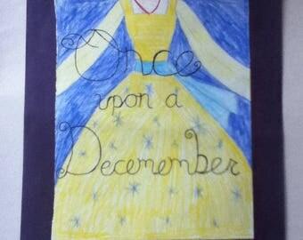 Once Upon a December (Illustration)