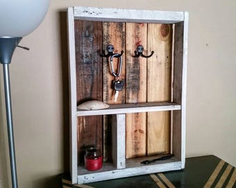 Entryway Pallet Shelf