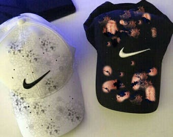 Pick Your Own White or Black Destroyed Nike hat