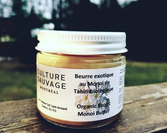 Limited Edition organic Monoi butter - Limited Edition Organic Monoi butter