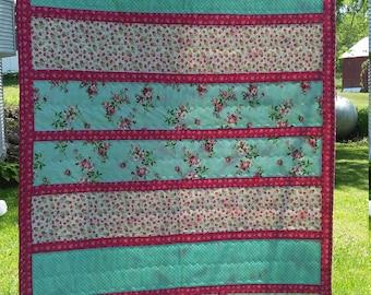 Girl's Custom Sized Baby Quilt