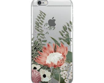 Desert Flowers 1 iPhone Case