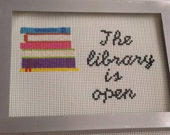 RuPaul Drag's Race, Paris is Burning Quote Cross Stitch. Reading, Shade, Drag Queens, Gay Pride, LGBTQIA+, handmade, Craft, RPDR