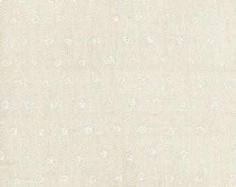Nani Iro Japanese Fabric Kokka Pocho Soft Wata Double Gauze - puffball - 50cm